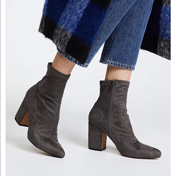 a5a294850d500 Steven Lieve block heel ankle boots NWT